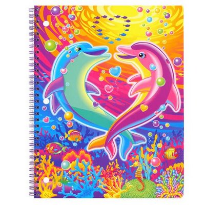 Lisa Frank was THE stationery to have for preteen girls in the 90s. By the time I hit 13, I was so over it.